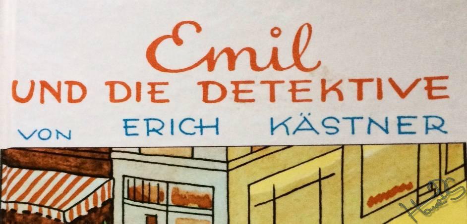 Eigenes Exemplar aus dem Jahr 1996, Titelbild/Zeichnungen: Walter Trier