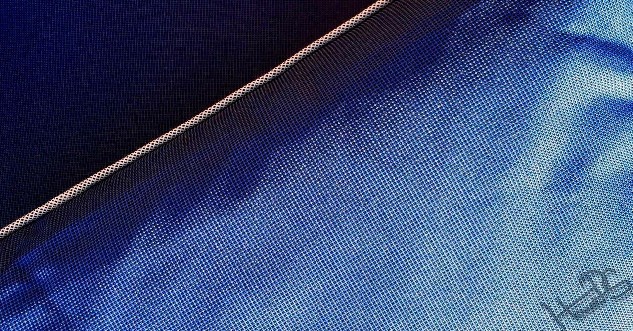 Blaue Outdoorkissen